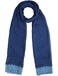 Womens Lace Scarf, Blue, One Size Dorothy Perkins