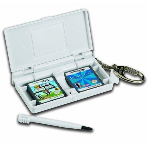 Universal Cards BF1666 Schlüsselanhänger-Nintendo DS Nintendo DS Spielehalter mit Stift (für 4 Spiele) (Ds Spiele Gesellschaftsspiele)