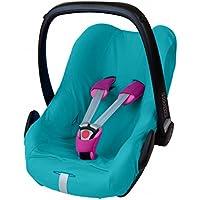 ByBoom® - Universal Sommerbezug, Schonbezug aus 100% Baumwolle, für Babyschale, Autositz, z.B. Maxi Cosi CabrioFix, City, Pebble; Designed in Germany, MADE IN EU