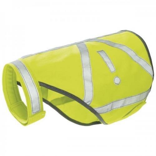 Hunter Warnweste Farbe gelb, reflektierend Größe L, Hundhalsbänder, Erziehungshalsband