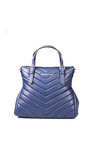 Armani Jeans Shopping bag woman Pvc/Plastic Patriot Blue