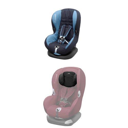 Maxi-Cosi Priori SPS Plus Kindersitz mit optimalem Seitenaufprallschutz und 4 Sitz- und Ruhepositionen, ocean blue, Gruppe 1 (ab 9 Monate bis ca. 4 Jahre, 9-18 kg) mit Kopfpolster