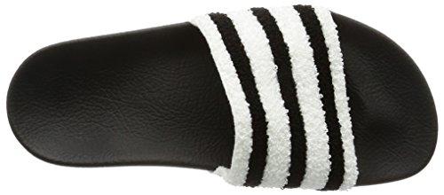 adidas Herren Adilette Badeschuhe Schwarz (Core Black/Core Black/Footwear White)