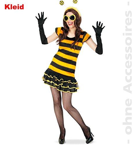Buzzy Kostüm Bee (Buzzy Bee, Kleid Größe 36)