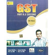 GST PART II & CUSTOMS FOR CS FINAL 2019-20