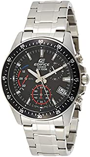 Casio Mens Quartz Watch, Chronograph Display and Stainless Steel Strap