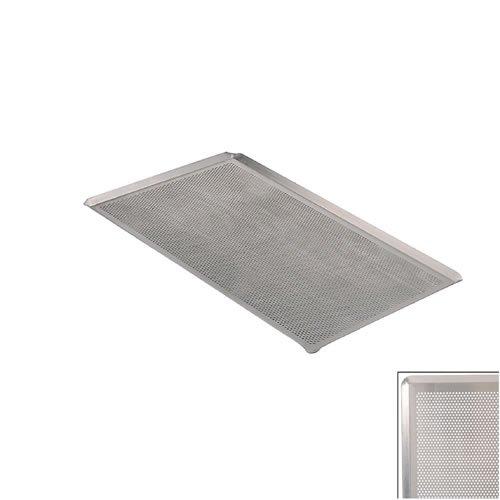 De Buyer 7367.53 Backblech , Mit Kanten Aus Aluminium 53Cm (Perforierte Bleche)
