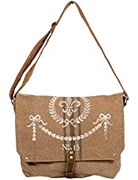 Priti Multi Design Washed Waxed Canvas Tote Bag Cross Body Bag Travels Bag Birthday Gift Bags