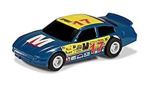 Micro Scalextric US Stock Car No 17 (Blue)