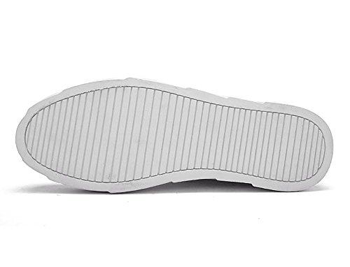 Scarpe da Basket Outdoor Multisport Uomo Scarpe Running Sportive Scarpe Corsa Sneakers Fitness Interior Casual all'Aperto white