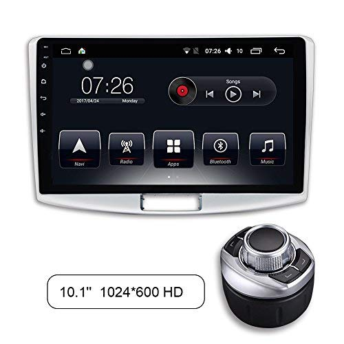 D-NOBLE Autoradio Auto Audio Spieler Stereoanlage 10.1 Zoll Bildschirm Quadcore 2GB/32GB Android 6.0 Bluetooth Car GPS Navigation Auto-Entertainment für Volkswagen VW CC 2012-2015 Passat B7 2012-2014