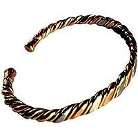 """Magnetischer 3 Farben schmaler massiv Kupfer Armband - 2 Armbanduhr Größen - CCB -mb8 - Medium - 172mm (6 3/4""""... preisvergleich bei billige-tabletten.eu"""