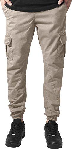 Urban Classics Herren Hose Cargo Jogging Pants, Sand, 4XL