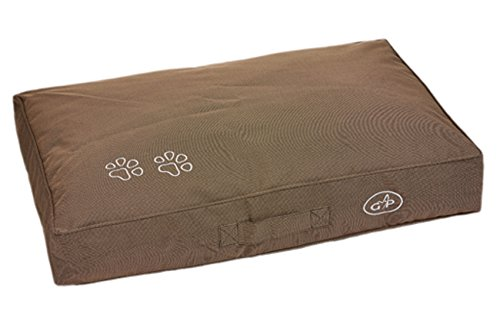 Gor Pets Extra Comfortable Dog Pillow for Outdoor Waterproof Portable - Small 43 x 61 cm (Brown) 2
