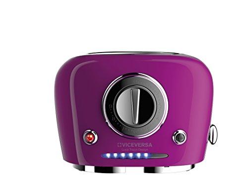 Viceversa 2135036Tix Pop Up Toaster Purpur