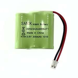 BuyaBattery 3SN2/3AAA30HSJP1 Batterie NiMH rechargeable 3,6V