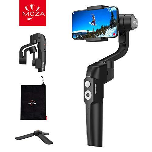 MOZA Mini-S Stabilisateur Gimbal Pliable pour Smartphone de 260 g pour iPhone, Huawei, Samsung