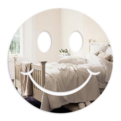 Mungai Mirrors Smiley-Gesicht Acryl-Spiegel (45cm)