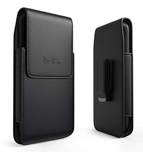 Lorem iPhone 6S 7 8 Gürteltasche mit Clip, Premium Leder Tasche Case, vertikale Tragetasche, Handyhalterung für Apple iPhone 6S 8 7 mit dünner Hülle Premium Leder Clips