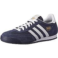 Adidas Originals Sneaker Drago moda, new navy / bianco / oro metallico, 7 D Us