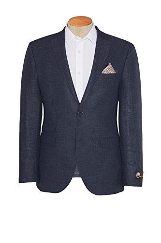 next Veste texturée en laine italienne bleu marine Standard Homme Bleu