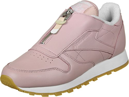 Reebok CL Leather Zip W Schuhe Shell Pink