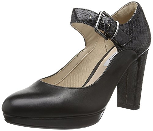 Clarks Kendra Gaby, Women's Pumps, Black (Schwarz), 7 UK (41 EU)