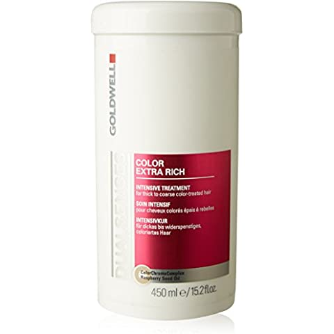 Dual Senses Color Extra Rich Intensive Treatment - For Thick to Coarse Color-Treated Hair (Salon Product), 450ml/15.2oz