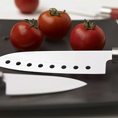 Newchef Cecotec Santoku-Set de 4 Couteaux avec revêtement en céramique