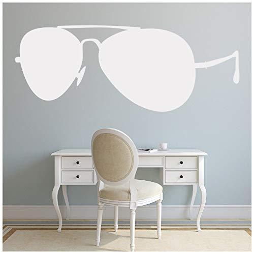 azutura Sonnenbrille Wandtattoo Urlaub am Meer Wand Sticker Kinder reisen Wohnkultur verfügbar in 5 Größen und 25 Farben X-Groß Elfenbein Beige
