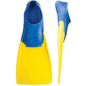 Finis Long Floating Fins (Blue/Yellow)