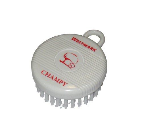 Westmark 51802260 Champy spazzola di pulizia per funghi e verdura in plastica, colore: bianco/rosso, dimensioni 8 x 6 x 3 cm
