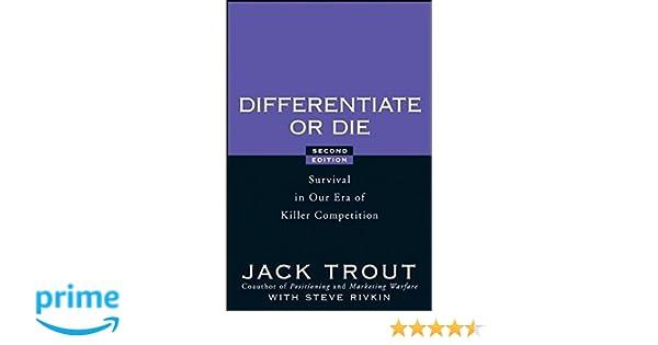 DIFFERENTIATE OR DIE JACK TROUT EBOOK