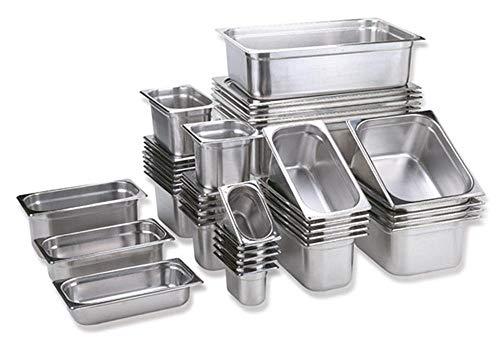 GN Behälter 65mm Größen Auswahl GN 1/2 1/3 1/4 2/3 Gastronormbehälter Chafing Warmhaltebehälter (GN 1/2 65mm)