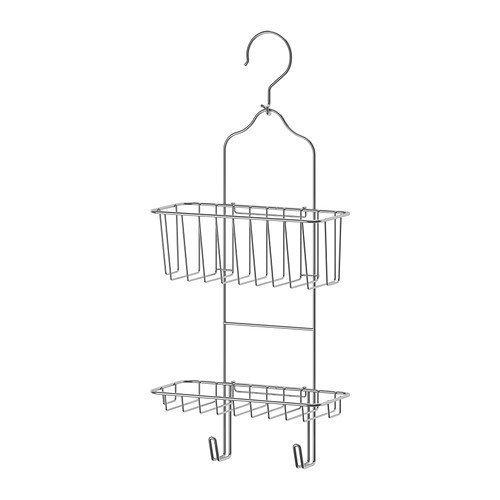 Aufhänger, zwei Ebenen, verzinkt - 24x53 cm (Verzinkt Dusche)