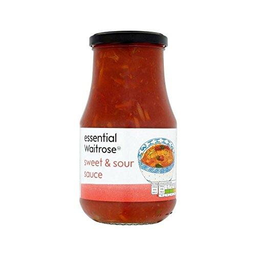 Sauce Aigre-Douce Waitrose Essentielle 500G - Paquet de 4