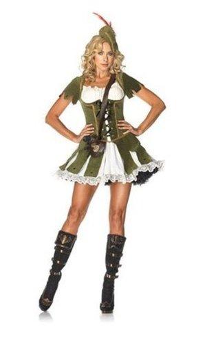 Ramona Lippert Robin Hood Kostüm Damen grün S/M