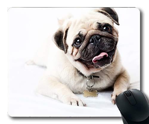 Gaming Mousepads, Happy Dog Vodafone Hund, Präzisionsnaht, langlebige Mausunterlage