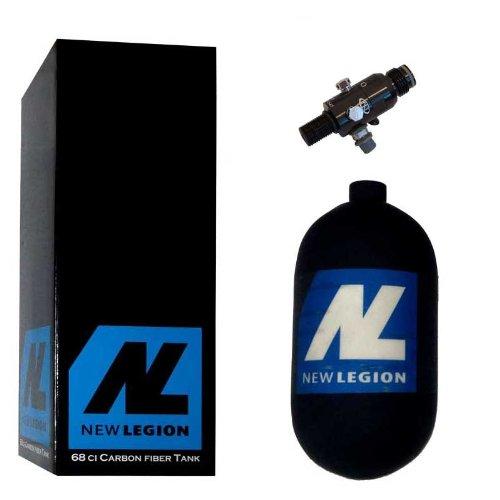 Preisvergleich Produktbild New Legion Paintball Dwarf Composite inkl. Regulator,  1.1 Liter,  61505