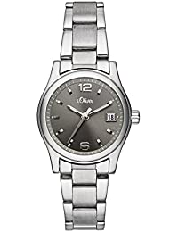 s.Oliver Time Damen-Armbanduhr SO-3314-MQ