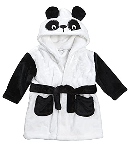 Lora Dora Baby Girls Boys Novelty 3D Hooded Animal Dressing Gown Bath Robe Size UK 6-24 Months