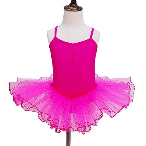 Kind Mädchen Ballett Tutu Gymnastic Trikot Tanz Kleid Sleeveless Kinder Dancewear Kleidung Prinzessin Ballerina Fee Party Kostüm