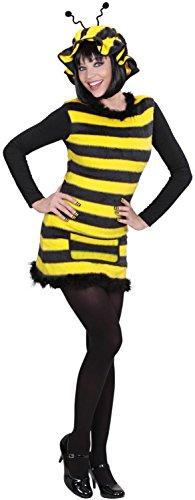 Imagen de disfraz de abeja mujer adulto carnaval