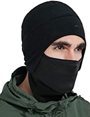 Tough Headwear Helmet Liner Skull Cap Beanie with Ear Covers - Ultimate Thermal Retention and Performance Mois