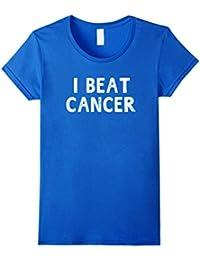 I Beat Cancer Breast Cancer Awareness T-shirt Women
