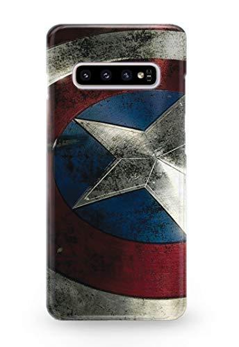 lle für Samsung Galaxy S10 Captain America Steve Rogers Superhero Marvel Comics 9 Designs ()