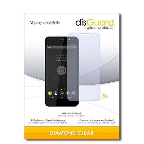 3 x disGuard® Schutzfolie Shift Shift5+ Bildschirmschutz Folie