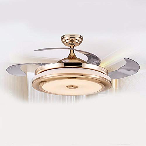 General Home Decor (Das Restaurant? Stealth? Deckenventilatoren mit Lampe Das Wohnzimmer? Schlafzimmer? Fan Light? Home? Decor? General? 42Inch Dimmer? Fernbedienung Diameter106Cm)