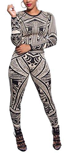 SunIfSnow - Mono - suéter - Básico - Manga Larga - para mujer negro negro Small