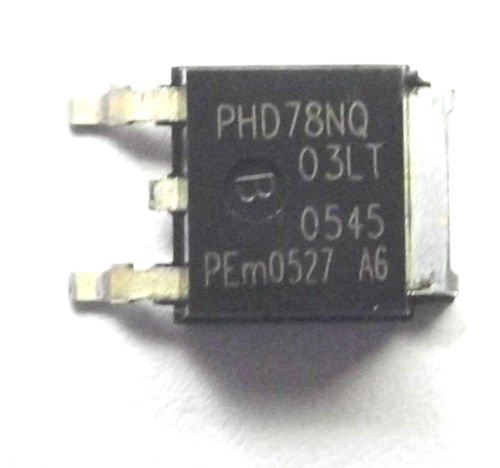 nxp-philips-phd78nq03lt-phd78nq-trans-mosfet-n-channel-25-v-75-a-3p-dpak
